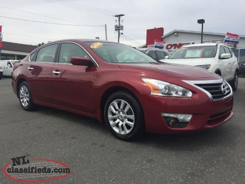 2013 NISSAN ALTIMA 2.5S WITH 60,000KMS