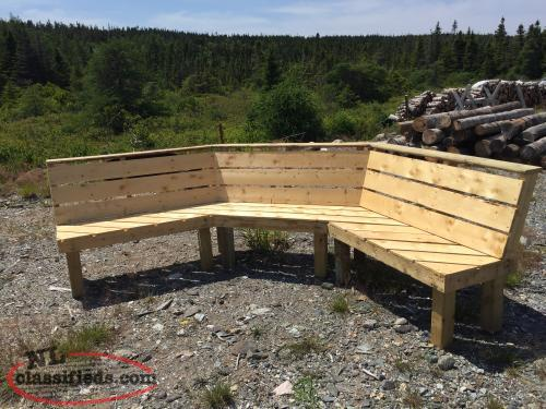 Great outdoors 6 seater bench