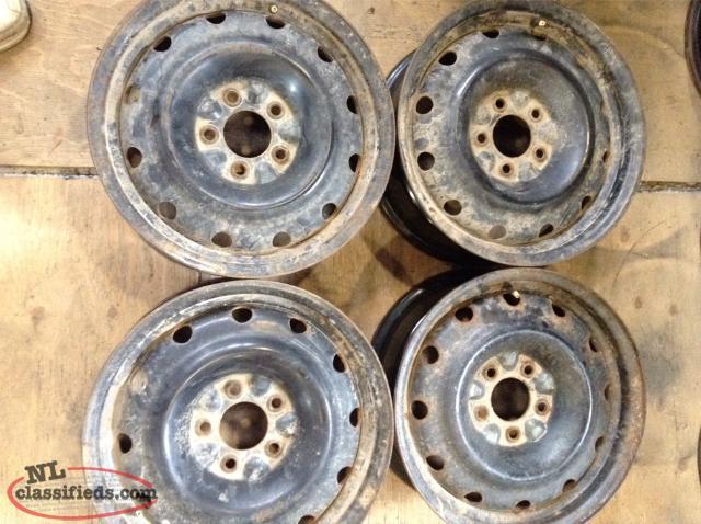 "15"" Nissan Sentra Steel Rims (4 lug x 114.3mm bolt pattern ..."