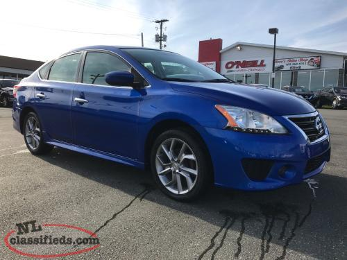 2013 NISSAN SENTRA SR WITH 66,000KMS