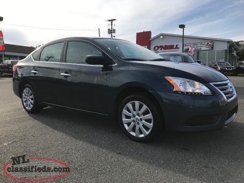 2014 NISSAN SENTRA WITH 17,000KMS