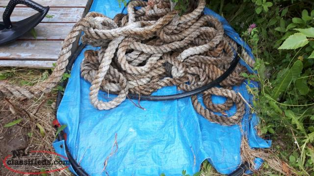 old Boat rope