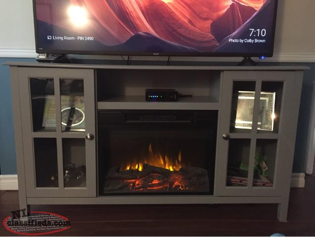 MasterFlame Electric Fireplace