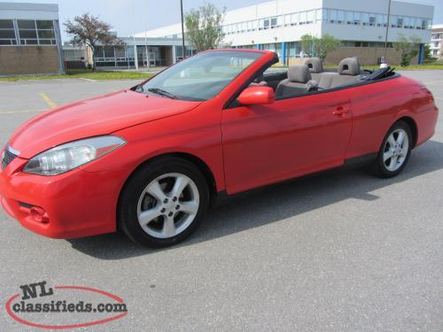 2007 Toyota Solara SE Convertible V6 (Inspected) Price $9,500