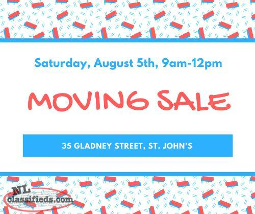 MOVING SALE - 3 Family Yard Sale!