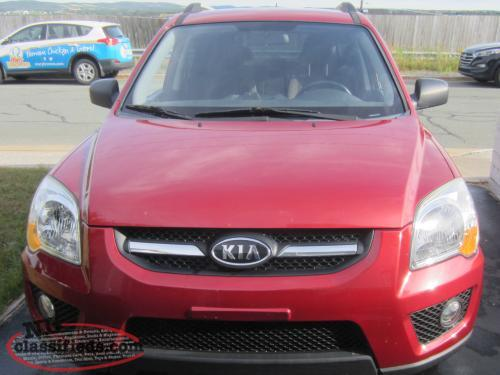 2009 kia sportage lx with 4 wheel drive standard trans low kms mt pearl newfoundland labrador. Black Bedroom Furniture Sets. Home Design Ideas