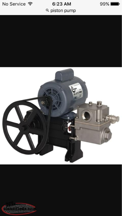 Wanted Piston Pump