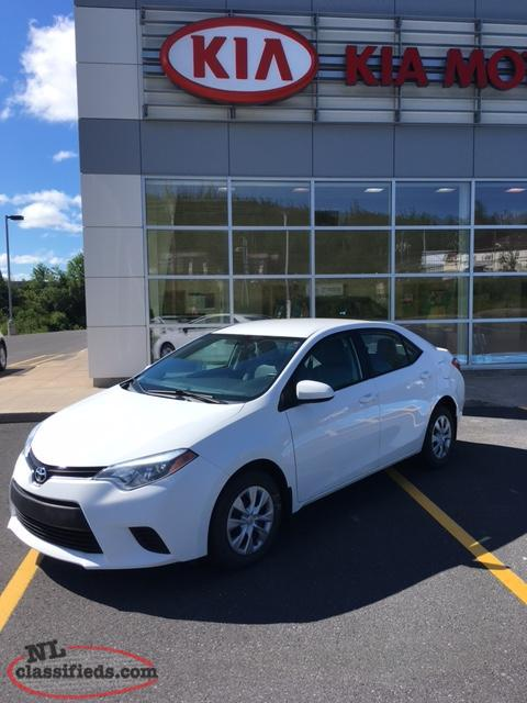 2014 TOYOTA COROLLA *MINT CONDITION* Well Maintained