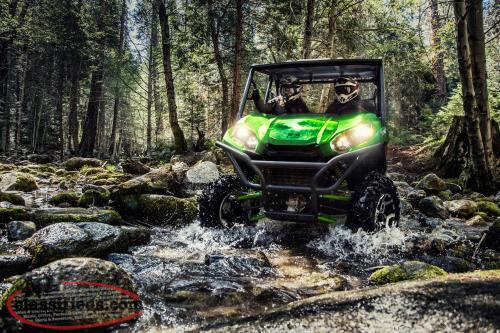BLOW OUT SALE! 2017 Kawasaki 2-Seater Teryx EPS LE! WINCH & WINDSHIELD INSTALLED