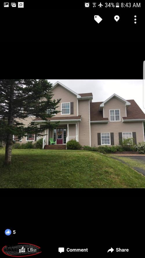 4 Bedroom House; Large Lot