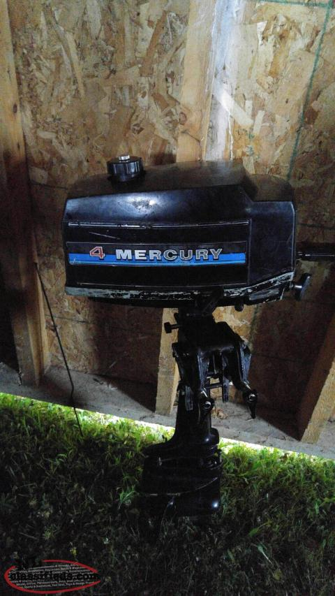 4 horse power mercury outboard motor st johns for 4 horse boat motor
