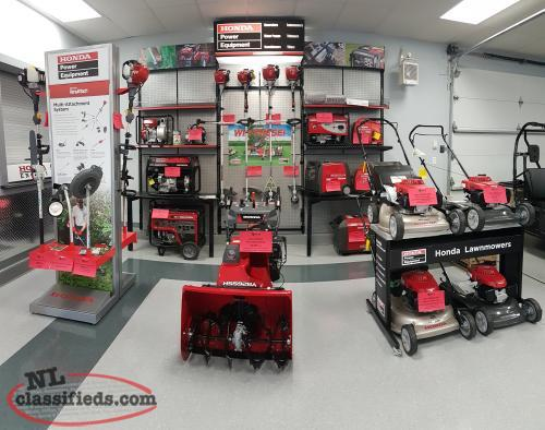 Full Lineup Of Honda Power Equipment!