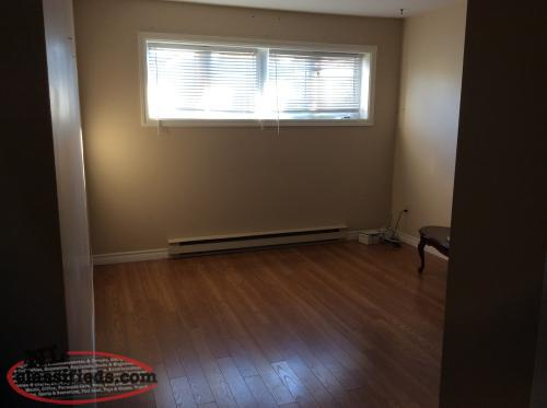 Available Immediately One Bedroom Basement Apartment Mount Pearl Newfoundland Labrador Nl