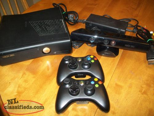Xbox 360 with Kinext bundle