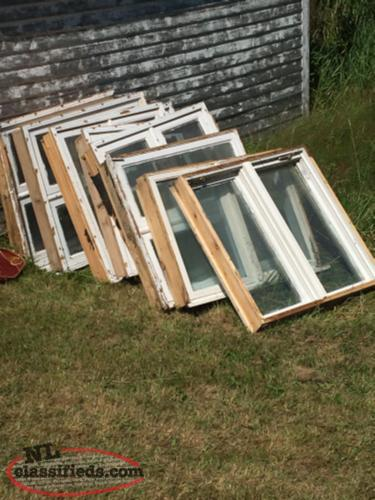 Large variety of windows