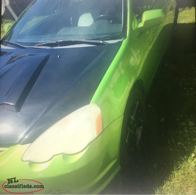 Looking For Parts For A 2002 Acura RSX