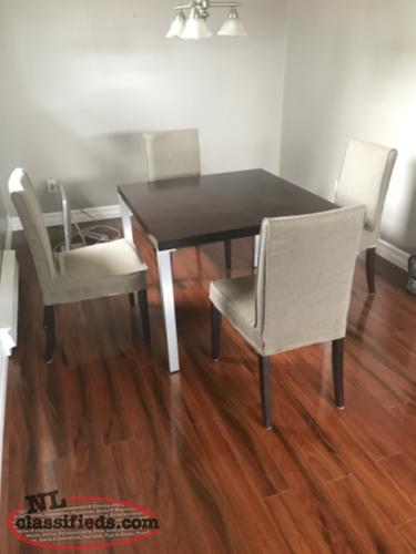 Kitchen or small dining room table.