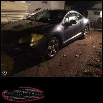 07 mitsubishi eclipse trade for truck