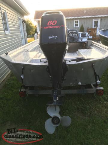 60 HP Mercury Bigfoot 4 Stroke