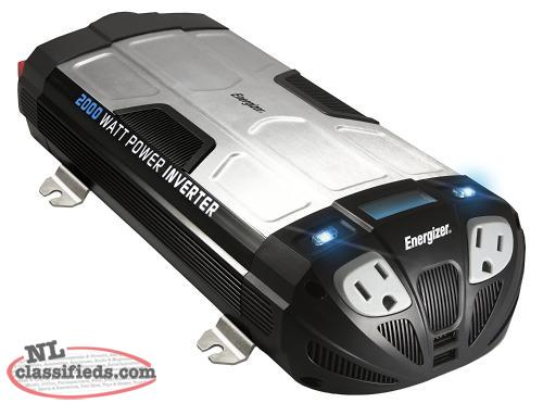Energizer EN2000 Power Inverter 2000-Watt