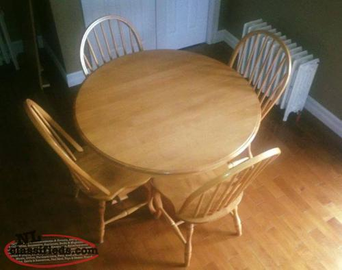Solid Wood Kitchen Table Port De Grave Newfoundland Labrador Nl Classifieds