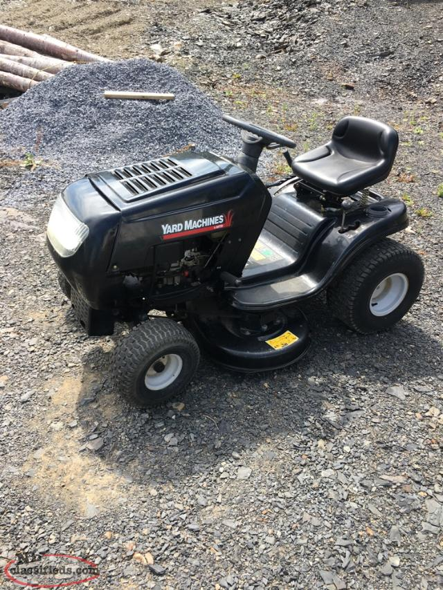 Yard Machines 13.5 Hp Ride On Mower