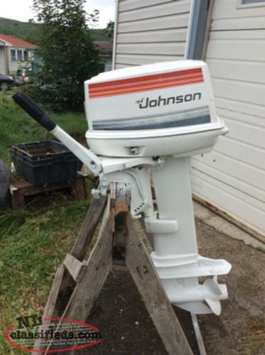 35 Johnson Outboard Motor
