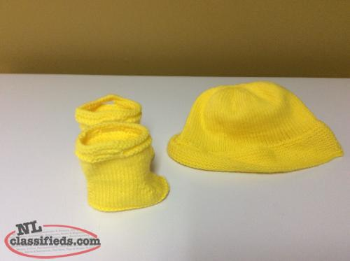 Baby Sou'wester Hat and Boot Sets