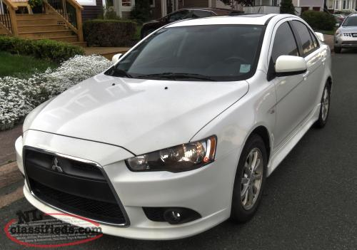 2012 Mitsubishi Lancer GT Sedan, Low Mileage, Leather, Sunroof