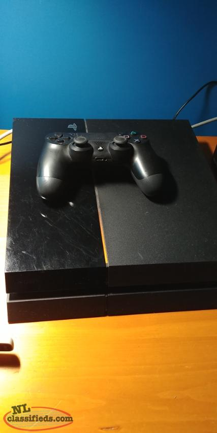 PS4 for sale with games.