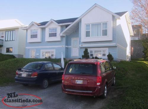 3 bedroom house with basement apartment