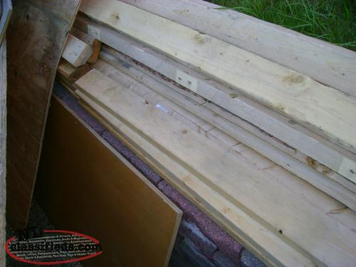 2x4 and sheeting
