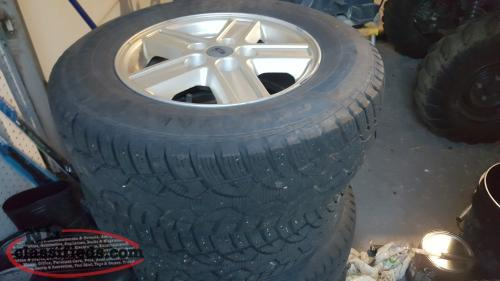 4 Winter Tires and Rims 215/70/15