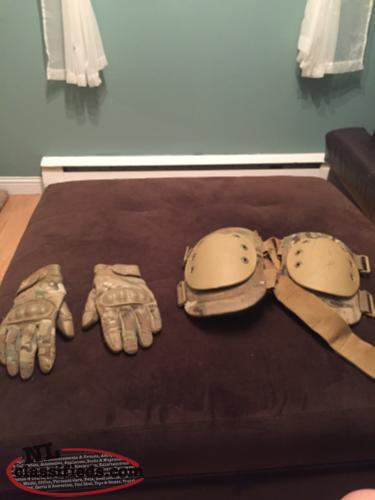 Mid Condition Gloves And Knee Pads