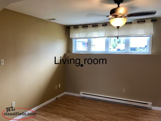 2Bedroom Basement Apartment For Rent Close To MUN