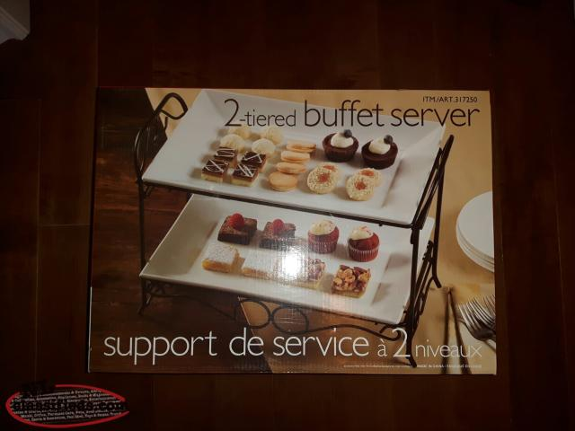 2 tier buffett server