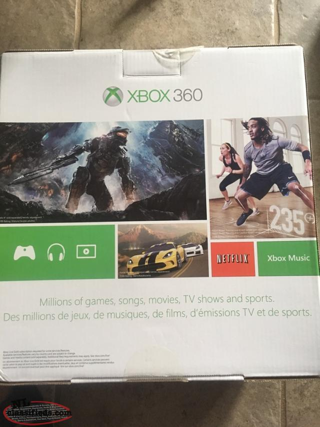 New Never Used Xbox 360 And Game