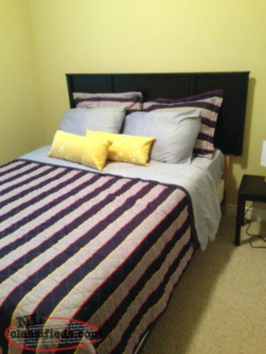 Double Bed including box spring and mattress