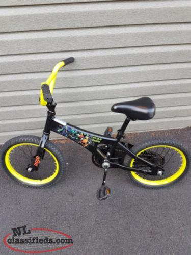 Ninja Turtles BMX Bike