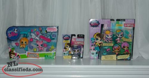 Littlest Pet Shop New in Package Lot of 3 Hard to find. 2012-2014 LPS