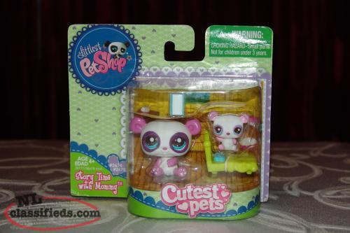 Littlest Pet Shop Cutest Pets New Story Time With Mommy Rare 2011
