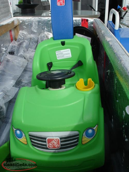 LARGER STEP 2 PUSH BUGGY, WITH LONG HANDLE, CUP HOLDER, SEAT BELT,