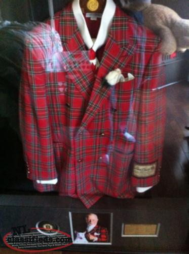 Autographed don cherry suit