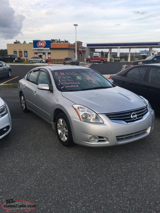 2012 Nissan Altima Se Inspected 7995