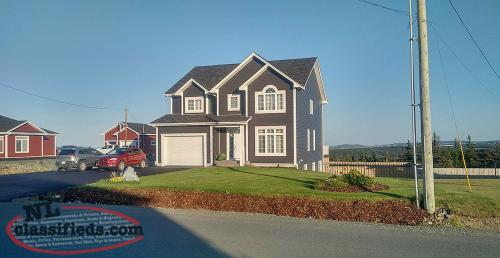 2 Storey 4100 Sq. Ft. Executive Home - Scenic View Ridge Torbay