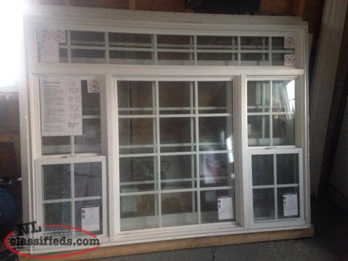 Brand new full vinyl argon window bryant 39 s cove for Brand new windows
