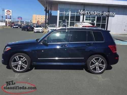 Pre owned 2013 mercedes benz glk350 4matic st john 39 s for Mercedes benz glk 350 maintenance schedule