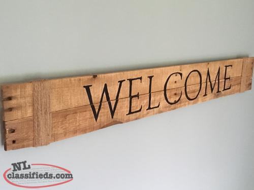 Rustic wooden signs!!!!!