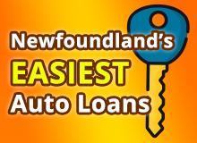 Newfoundland's EASIEST Auto Loans - All Credit Approved!