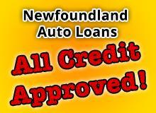 Newfoundland Auto Loans - All Credit Approved!